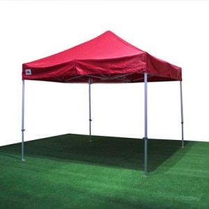 carpa extensible roja