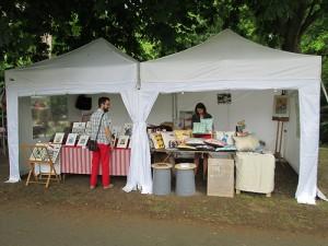 Foto Carpa blanca para street market