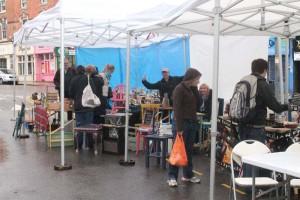 Carpa plegable street market