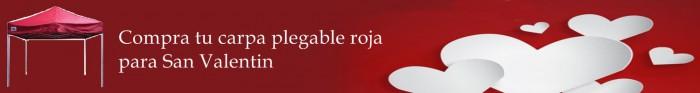 foto de slider enlazado para comprar carpa plegable roja