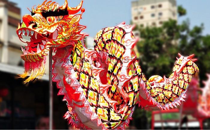 foto de dragón para año nuevo chino