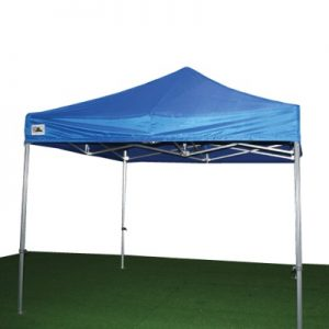 carpa extensible azul