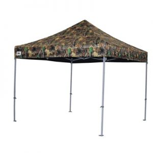 carpa plegable camuflaje
