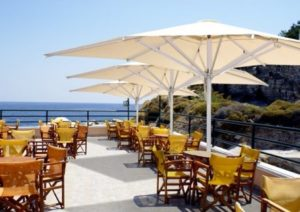 parasoles para hosteleria