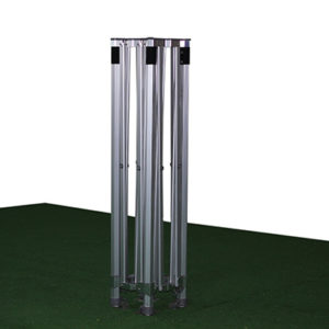 estructura para carpas plegables de aluminio reforzado 3x3