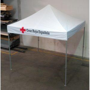 carpas plegables para equipos de emergencias